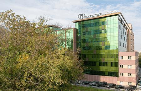 Современный деловой центр Barklay Plaza (Барклай Плаза)